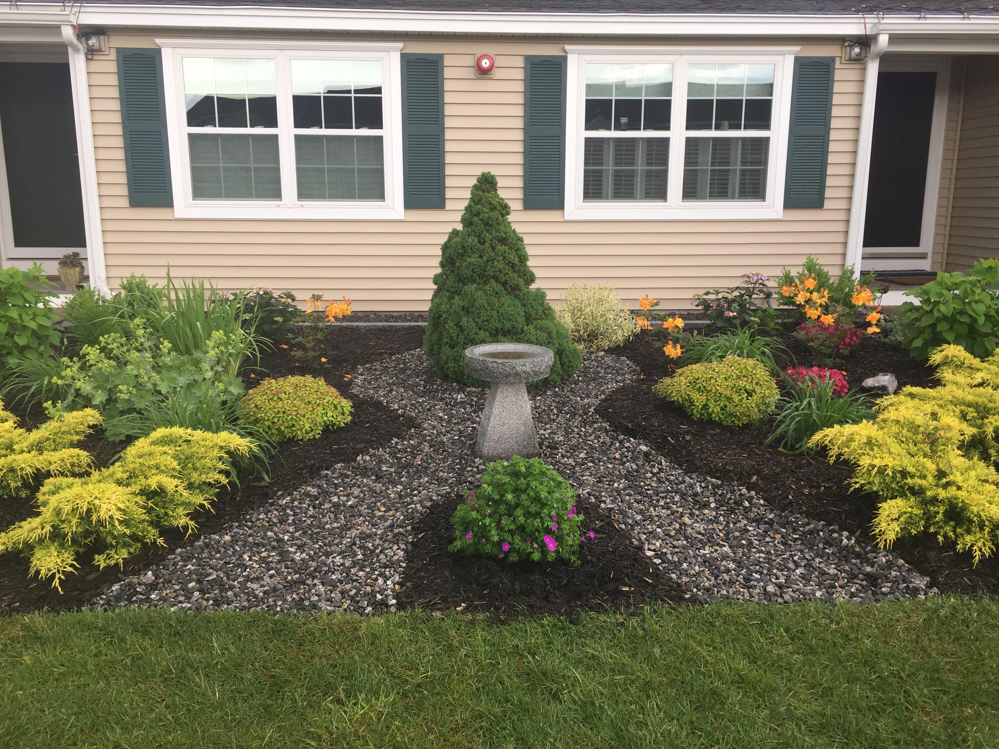 Maine Residential Garden
