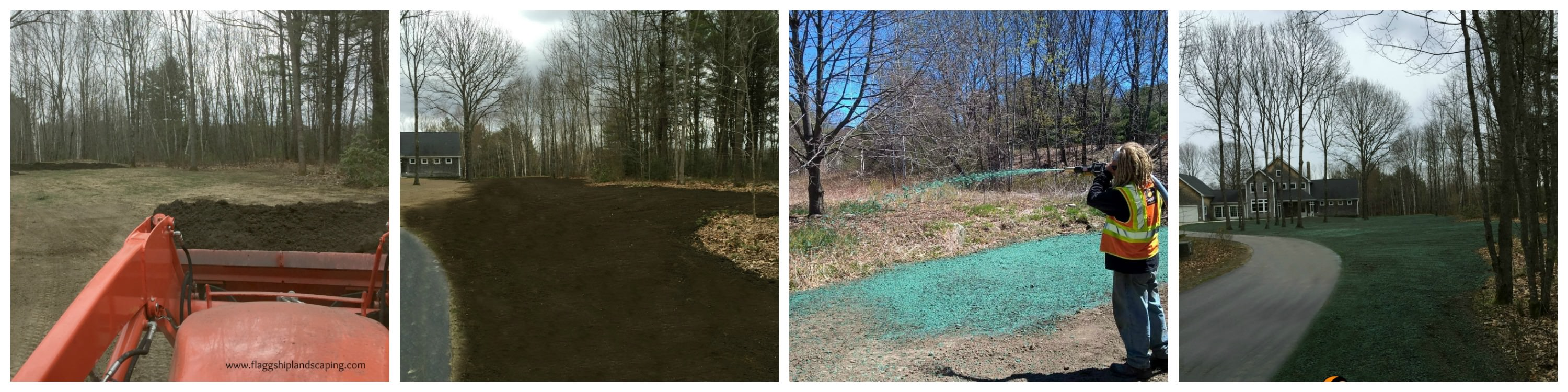 Hydroseeding in Maine